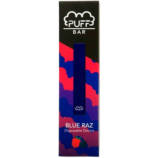 Puff Bar Blue Razz Disposable Pod- VapeRanger Wholesale eLiquid/eJuice