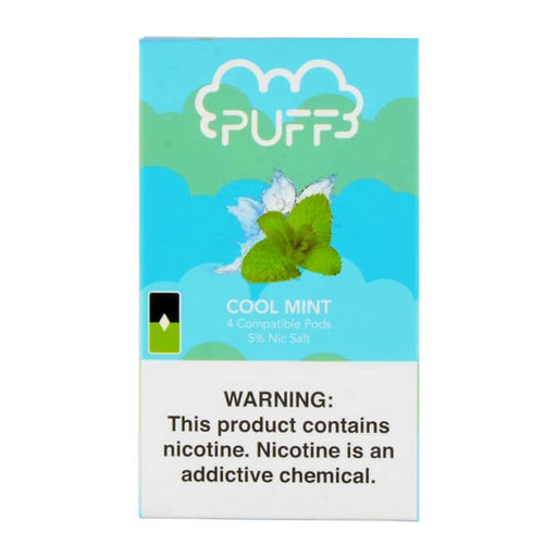 Puff Pods Cool Mint- VapeRanger Wholesale eLiquid/eJuice