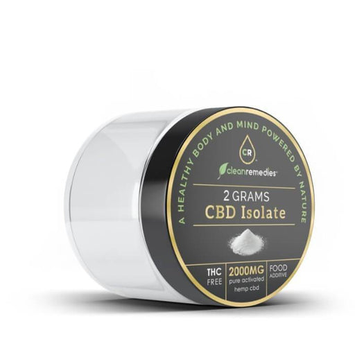 Clean Remedies Organic CBD Pure CBD Isolate Powder- VapeRanger Wholesale eLiquid/eJuice