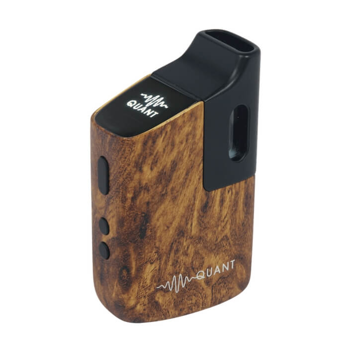 Quant Flower Walnut Wood Vaporizer by Quant Vapor Hardware Wholesale eLiquid | eJuice Wholesale VapeRanger
