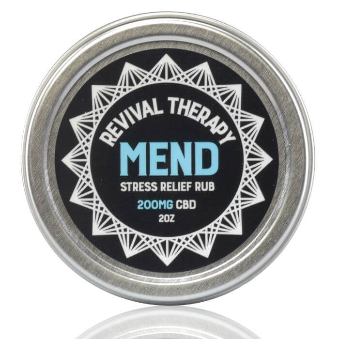 Revival CBD Mend Stress Relief Rub