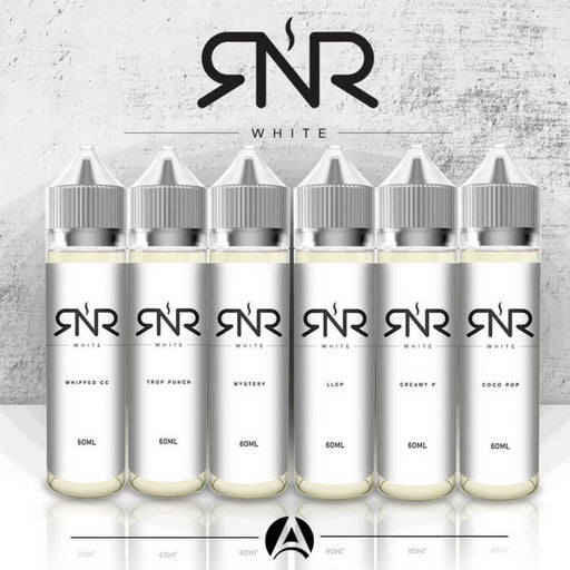 RnR White E-Liquid Sample Pack- VapeRanger Wholesale eLiquid/eJuice