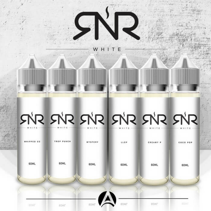 RnR White E-Liquid Sample Pack #1