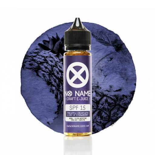SPF 15 by No Name Craft E-Juice - Unavailable- VapeRanger Wholesale eLiquid/eJuice