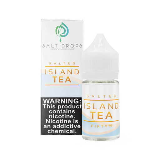 Salted Island Tea by Salt Drops E-Liquid- VapeRanger Wholesale eLiquid/eJuice