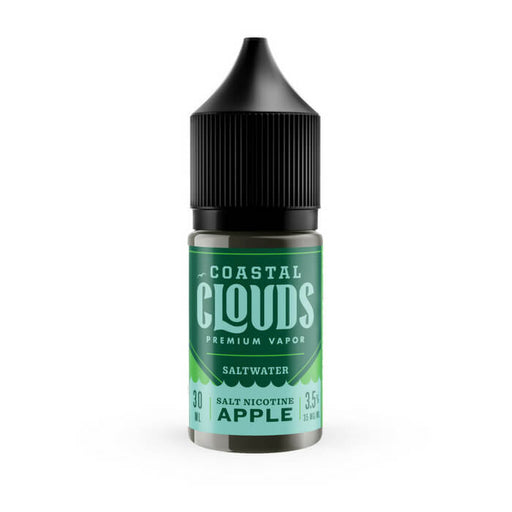 Saltwater Apple by Coastal Clouds Nicotine Salt eJuice- VapeRanger Wholesale eLiquid/eJuice