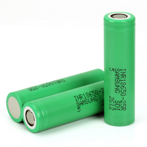 Samsung 25R 2500mAh 3.7V Lithium-ion 18650 Batteries (100-Pack)- VapeRanger Wholesale eLiquid/eJuice