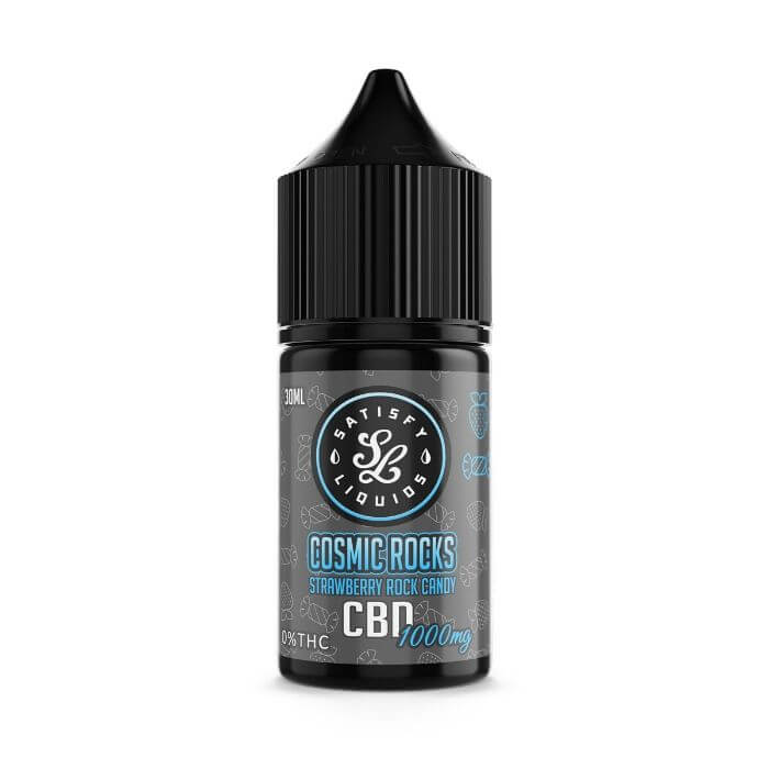 Satisfy Liquids CBD Cosmic Rocks E-Liquid