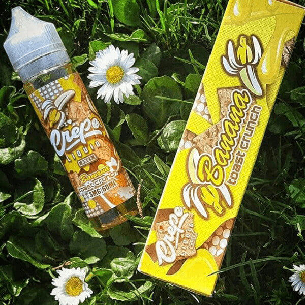 Banana Toast Crunch by Crepe Liquid eJuice Wholesale eLiquid | eJuice Wholesale VapeRanger