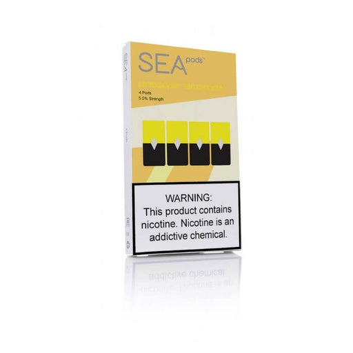 Sea100 Pods Pineapple Lemonade- VapeRanger Wholesale eLiquid/eJuice