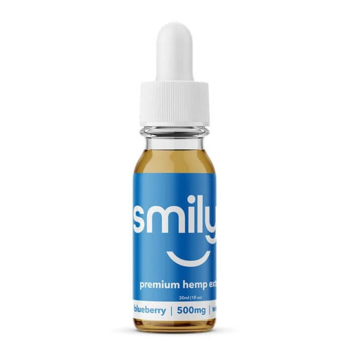 Smilyn Wellness CBD Blueberry Tincture- VapeRanger Wholesale eLiquid/eJuice