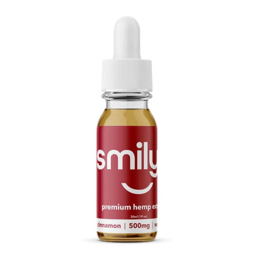 Smilyn Wellness CBD Cinnamon Tincture- VapeRanger Wholesale eLiquid/eJuice