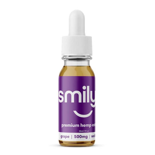 Smilyn Wellness CBD Grape Tincture- VapeRanger Wholesale eLiquid/eJuice