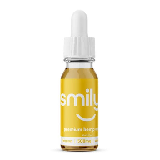 Smilyn Wellness CBD Lemon Tincture- VapeRanger Wholesale eLiquid/eJuice
