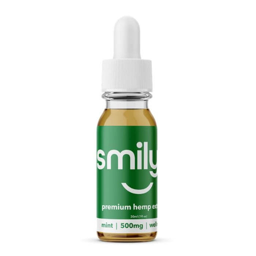 Smilyn Wellness CBD Mint Tincture- VapeRanger Wholesale eLiquid/eJuice