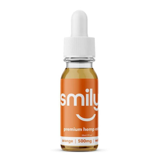 Smilyn Wellness CBD Orange Tincture- VapeRanger Wholesale eLiquid/eJuice