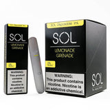 Sol Lemonade Grenade Disposable Device- VapeRanger Wholesale eLiquid/eJuice