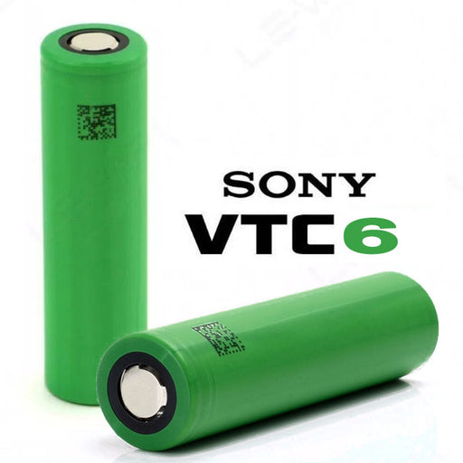 Sony VTC6 18650 3000mAh 30A Batteries (2-Pack)- VapeRanger Wholesale eLiquid/eJuice