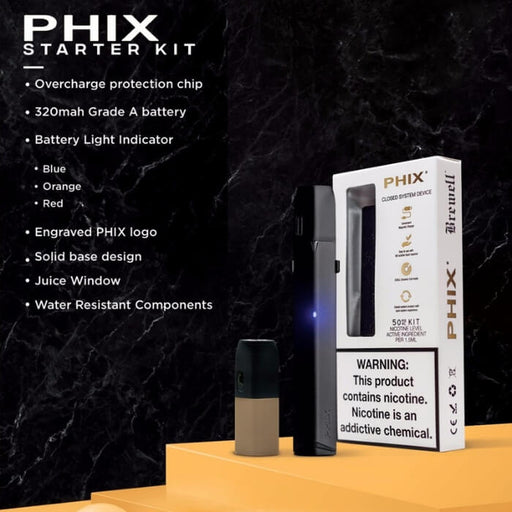 Starter Kit by Phix Vapor- VapeRanger Wholesale eLiquid/eJuice