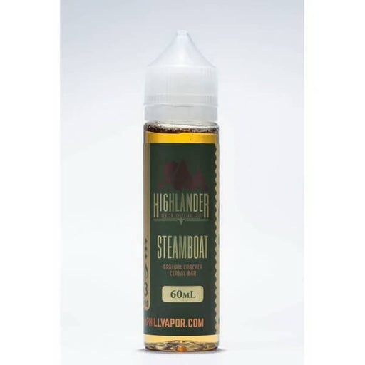 Steamboat by Highlander Premium Dripping Juice Extended E-Juice- VapeRanger Wholesale eLiquid/eJuice