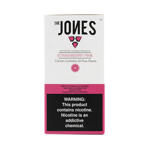 The Jones Pods Strawberry Pink- VapeRanger Wholesale eLiquid/eJuice