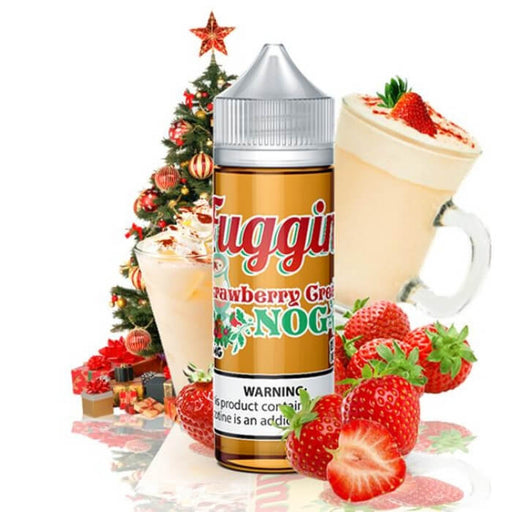 Strawberry Cream Nog by Fuggin Vapor E-Juice- VapeRanger Wholesale eLiquid/eJuice