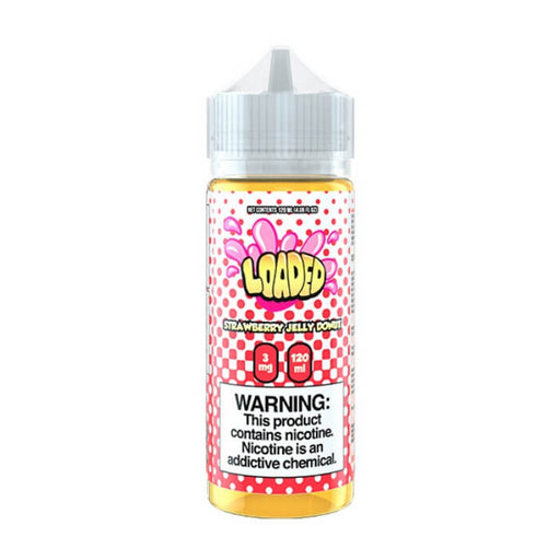 Strawberry Jelly Donut by Loaded Nicotine Salt E-Liquid- VapeRanger Wholesale eLiquid/eJuice