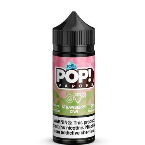 Strawberry Kiwi Iced by Fruit POP! E-Liquid- VapeRanger Wholesale eLiquid/eJuice