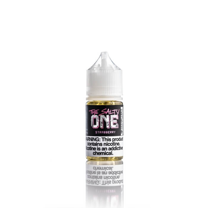 Strawberry Nicotine Salt by The Salty One E-Liquid #1