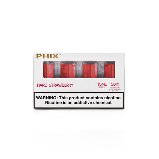 Strawberry Pods by Phix Vapor (4 Pack)- VapeRanger Wholesale eLiquid/eJuice