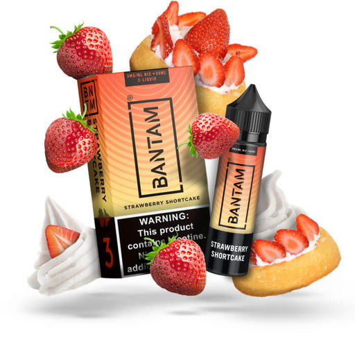 Strawberry Shortcake with Whipped Cream by Bantam E-Liquid- VapeRanger Wholesale eLiquid/eJuice