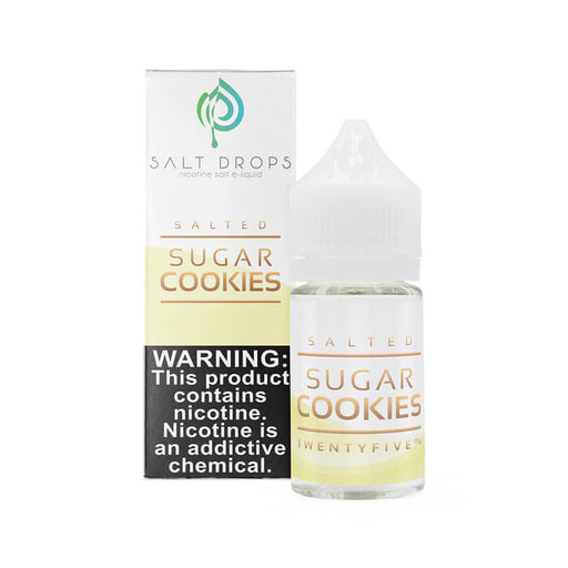 Salted Sugar Cookies by Salt Drops E-Liquid- VapeRanger Wholesale eLiquid/eJuice