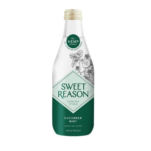 Sweet Reason Beverage CBD Cucumber Mint Water- VapeRanger Wholesale eLiquid/eJuice