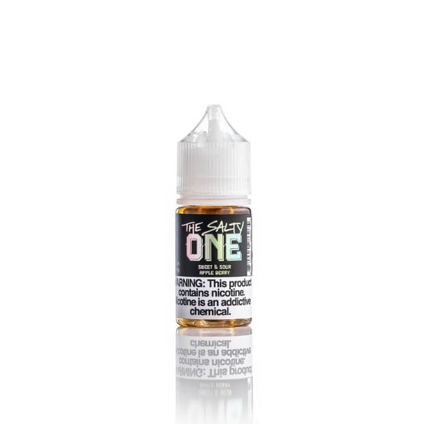 Sweet & Sour Apple Berry Nicotine Salt by The Salty One E-Liquid #1
