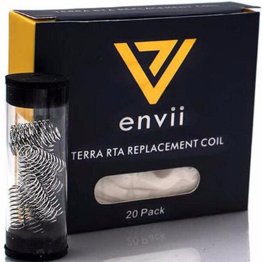 Terra RTA Replacement Coils (20-Pack) by Envii Vaping Hardware Products - Unavailable- VapeRanger Wholesale eLiquid/eJuice