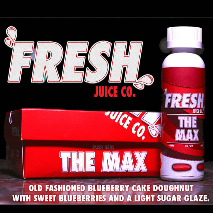 The Max by Fresh Juice Co. eJuice #1