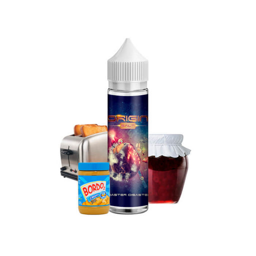 Origin Salt Toaster Disaster by BordO2 Nicotine Salt E-Liquid- VapeRanger Wholesale eLiquid/eJuice