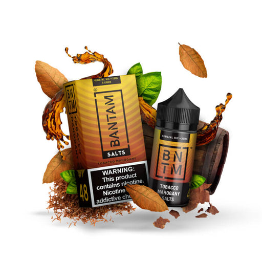 Tobacco Mahogany by Bantam Nicotine Salt E-Liquid- VapeRanger Wholesale eLiquid/eJuice