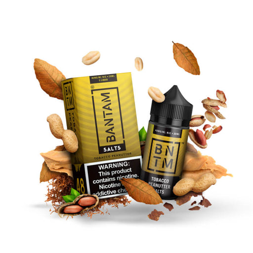 Tobacco Peanutter by Bantam Nicotine Salt E-Liquid- VapeRanger Wholesale eLiquid/eJuice