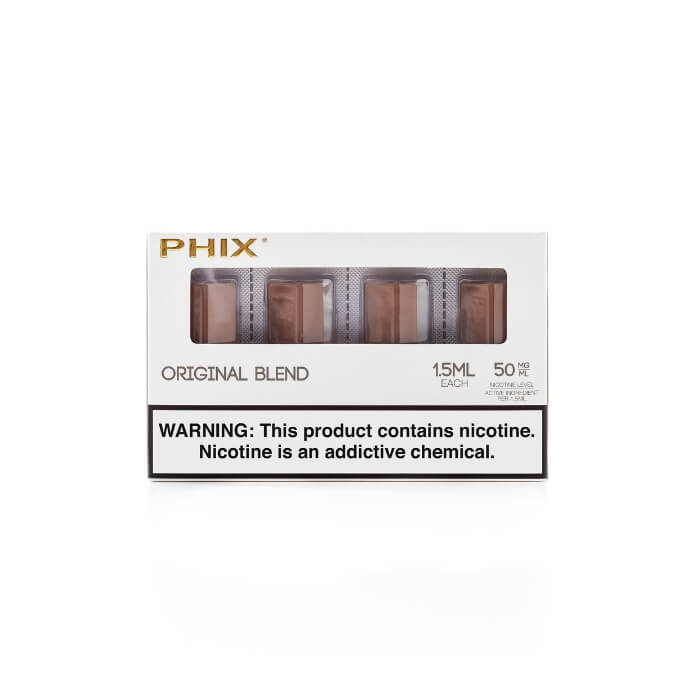 Tobacco Pods by Phix Vapor (4 Pack) (CA-Tax) Wholesale eLiquid | eJuice Wholesale VapeRanger