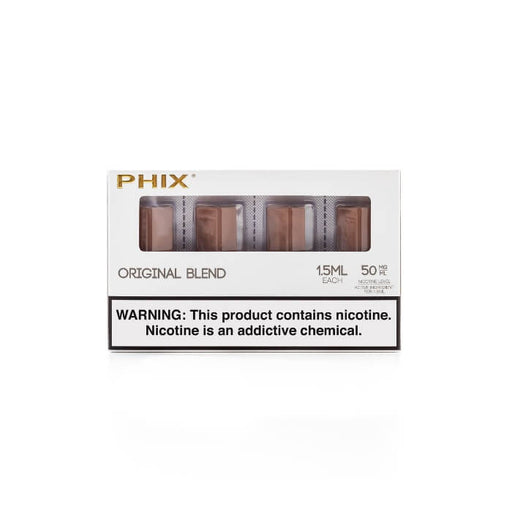 Tobacco Pods by Phix Vapor (4 Pack) (CA-Tax)- VapeRanger Wholesale eLiquid/eJuice