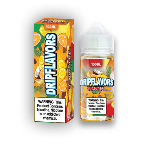 Tropical Fruits by DripFlavors eJuice- VapeRanger Wholesale eLiquid/eJuice