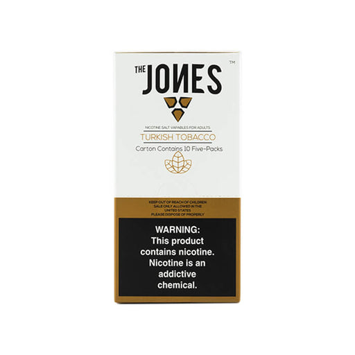 The Jones Pods Turkish Tobacco- VapeRanger Wholesale eLiquid/eJuice