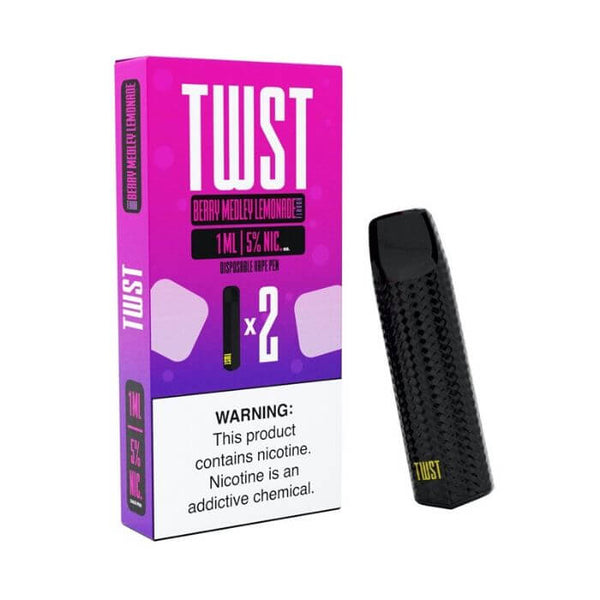 Twist Berry Medley Lemonade Disposable Device (Twin Pack)