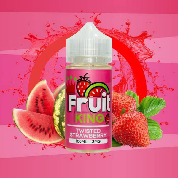 Twisted Strawberry by Fruit King E-Liquid #1