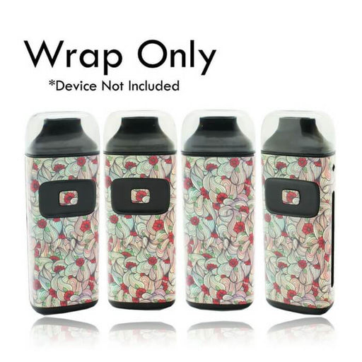 VCG Aspire Breeze Wraps: Floral #1- VapeRanger Wholesale eLiquid/eJuice