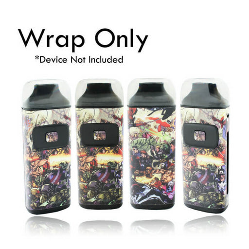 VCG Aspire Breeze Wraps: Superhero Battle- VapeRanger Wholesale eLiquid/eJuice