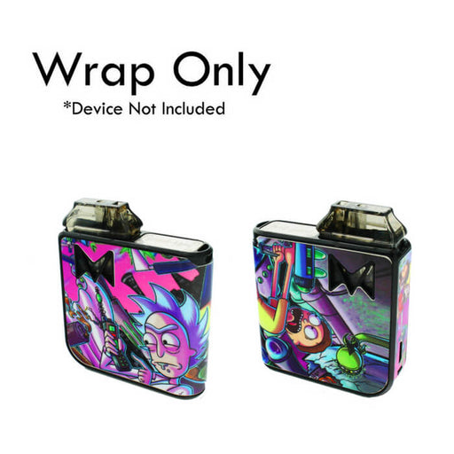 VCG Mi-Pod Wraps: Rick And Morty- VapeRanger Wholesale eLiquid/eJuice