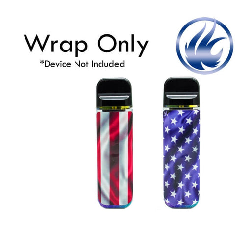 VCG Smok Novo Wraps: American Flag- VapeRanger Wholesale eLiquid/eJuice