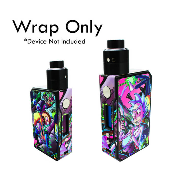 VCG VooPoo Drag Wraps: Rick And Morty Wholesale eLiquid | eJuice Wholesale VapeRanger